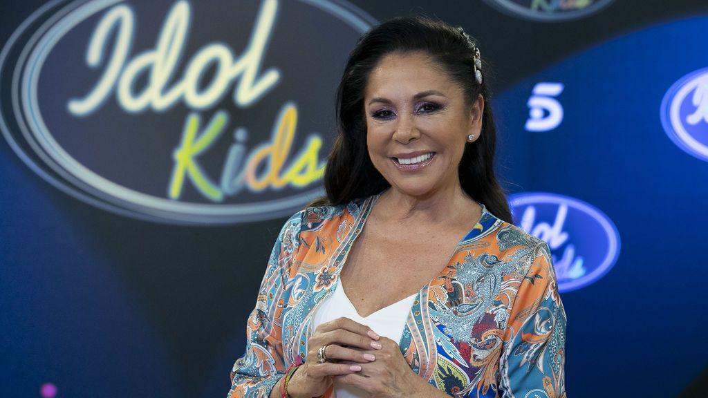 """Isabel Pantoja, emocionadísima con 'Idol kids': """"Es lo más bonito que voy a recordar en mi vida"""""""