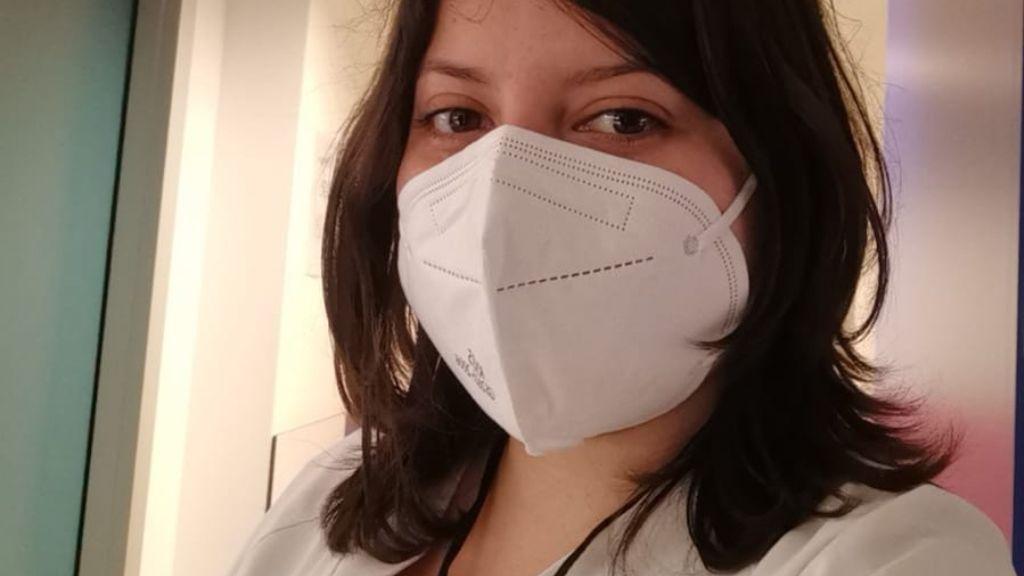 Gabriela trabaja en el primer ensayo clínico autorizado en España para la vacuna del coronavirus