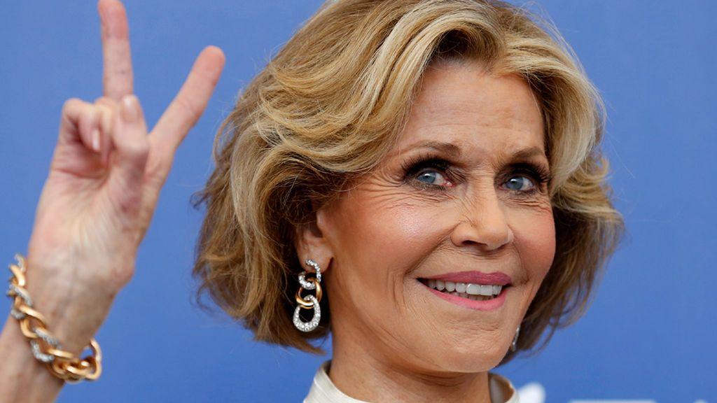 Jane Fonda, en una imagen de 2017 en Venecia