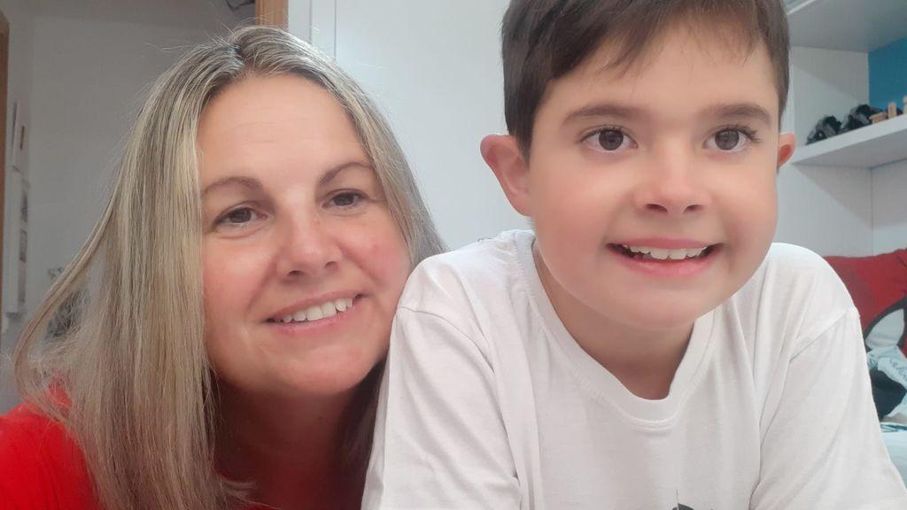 """Enfermedad rara de Duchenne-Becker: """"Fue el peor día de mi vida. Mi hijo sufría una enfermedad rara y yo era la portadora"""""""