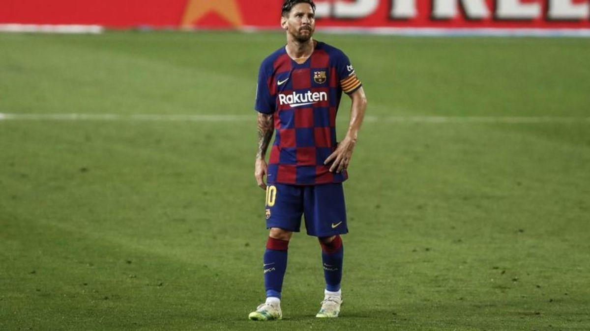 Messi confirma que se queda en el Barcelona en la peor jugada de su vida