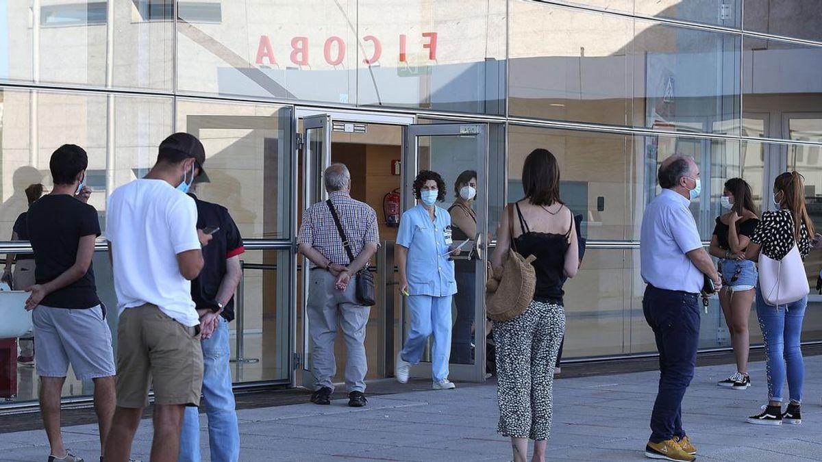 La cifra de contagios por covid19 en Euskadi sigue con su tendencia al alza al registrar 745 nuevos positivos
