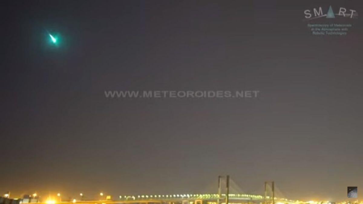 Detectan una bola de fuego sobrevolando el sur de España a 97.000 km/hora
