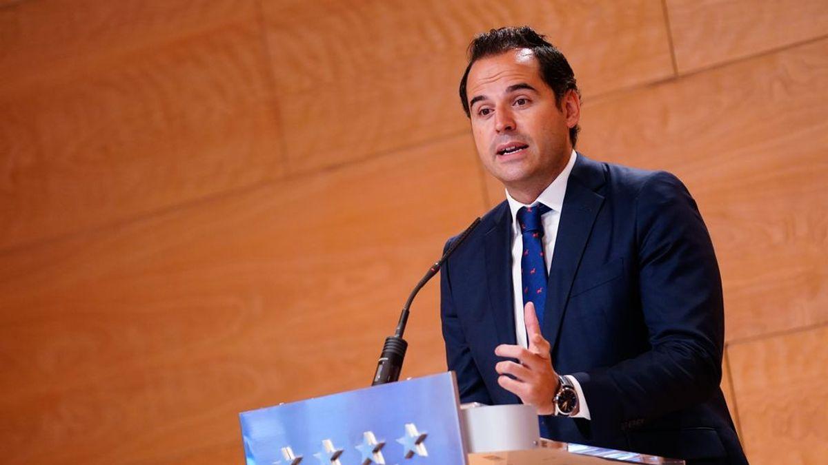 """Aguado defiende que las restricciones de Madrid buscan """"frenar esa segunda ola que va cogiendo fuerza"""""""