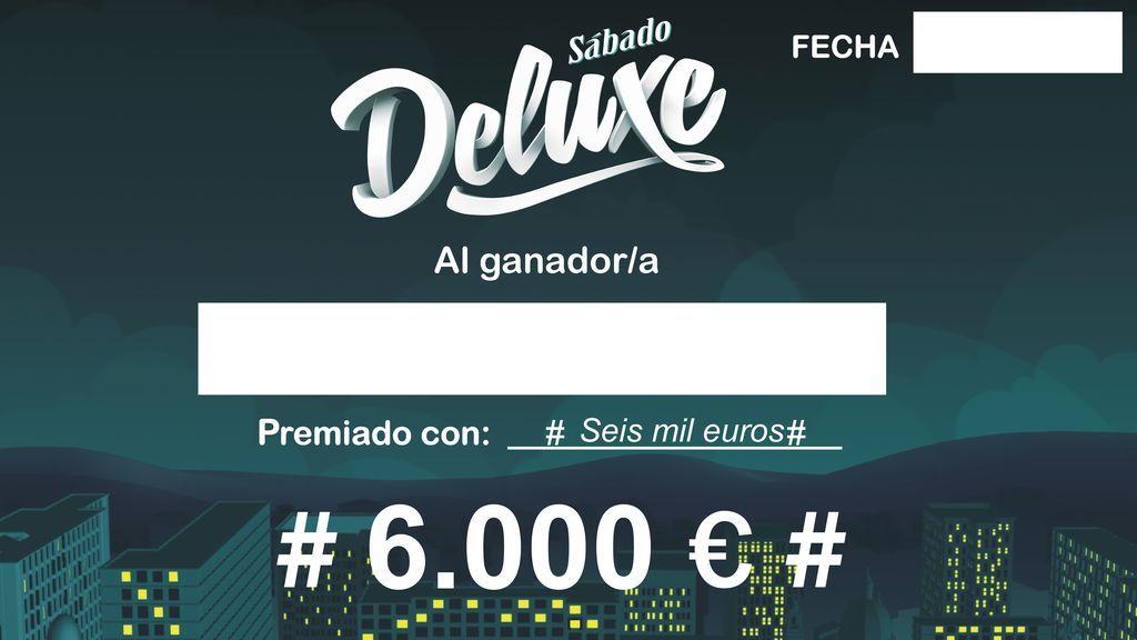 'Gana con Telecinco', el nuevo concurso de 'Sábado Deluxe'