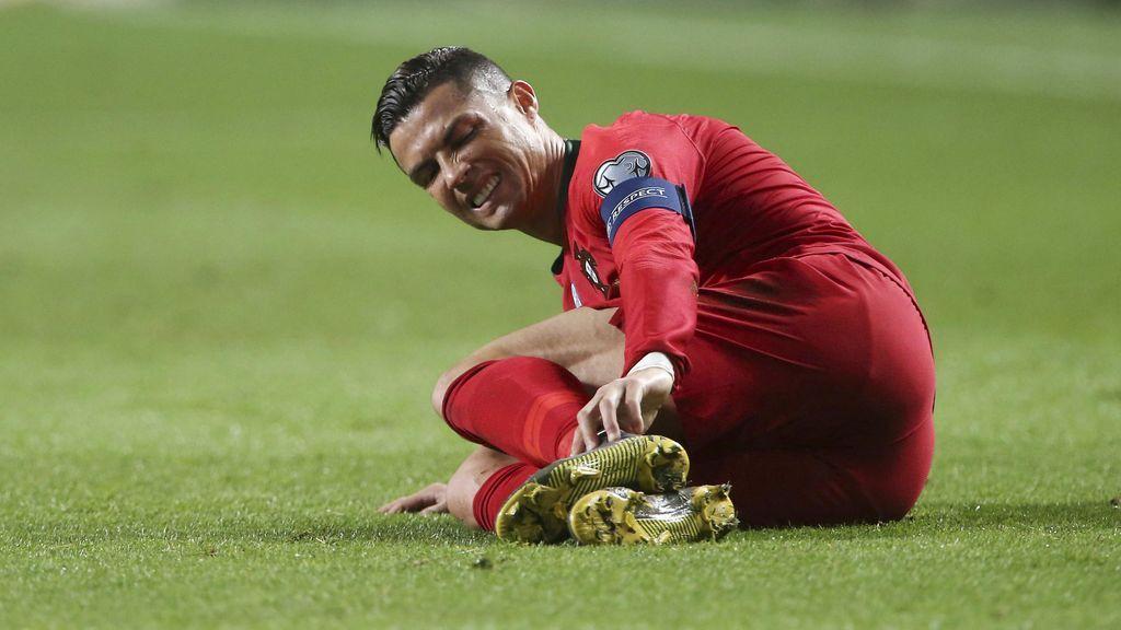 Cristiano Ronaldo tiene una infección en el pie por una picadura de abeja: baja ante Croacia