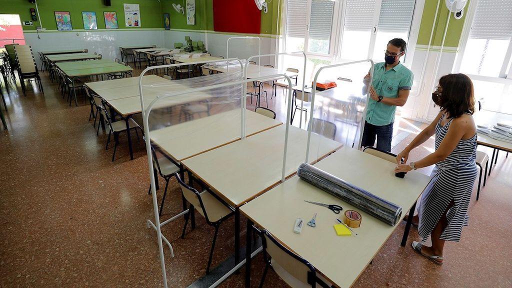 El personal de los centros educativos, listo para afrontar un curso incierto