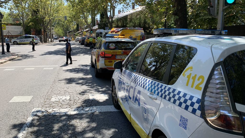 Un hombre muere en Madrid tras ser atropellado por conductor de autobús con el que había discutido