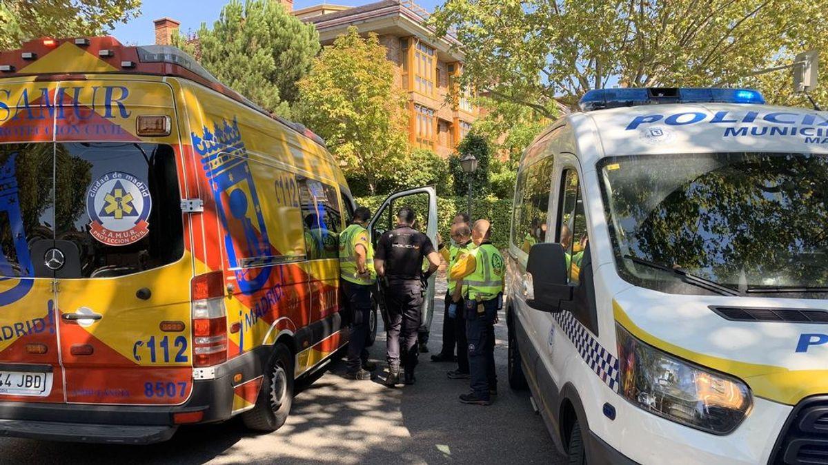 Detenido el conductor del autobús que ha atropellado mortalmente a un hombre en Aravaca, Madrid