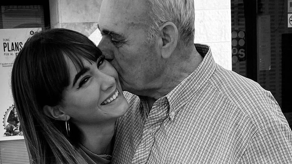 """Aitana se despide de su abuelo tras su muerte: """"Cuatro ángeles en el cielo"""""""