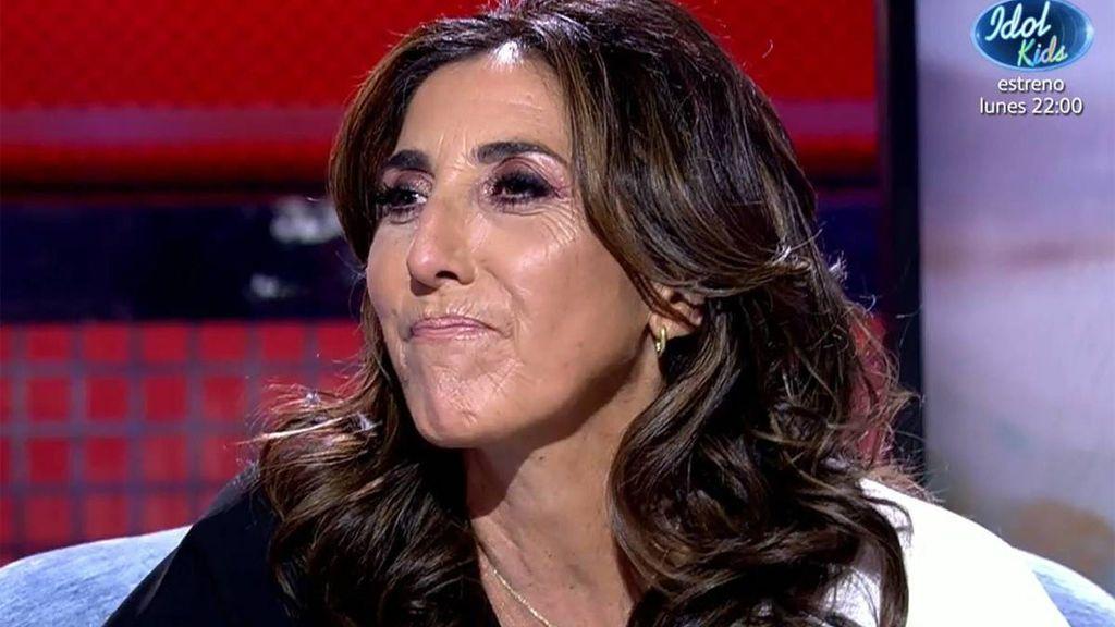Paz Padilla, en su entrevista en Deluxe (5 de septiembre)