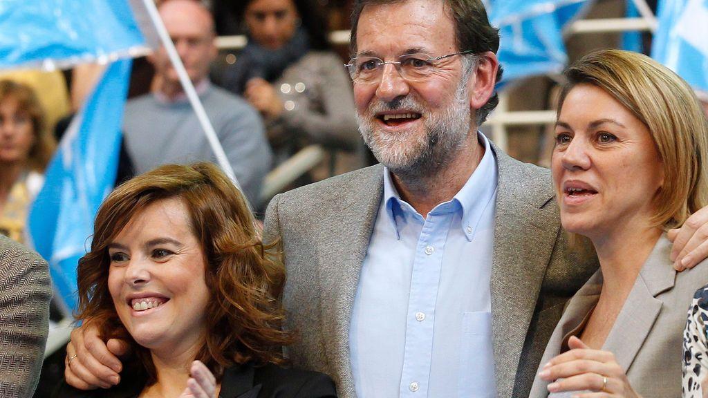 Los motes que los miembros de la Kitchen ponían a Rajoy, Cospedal o Sáenz de Santamaría