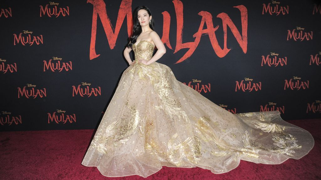 Liu Yifei en la premiere de la película 'Mulán'