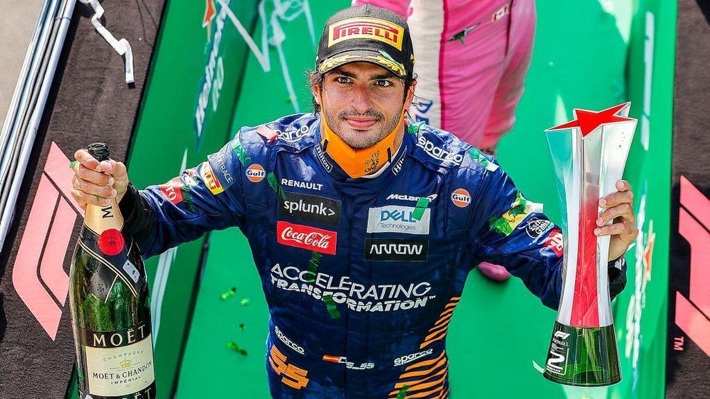 Carlos Sainz nos volvió a hacer vibrar: el piloto español se quedó en Monza a 0.4 segundos de su primera victoria