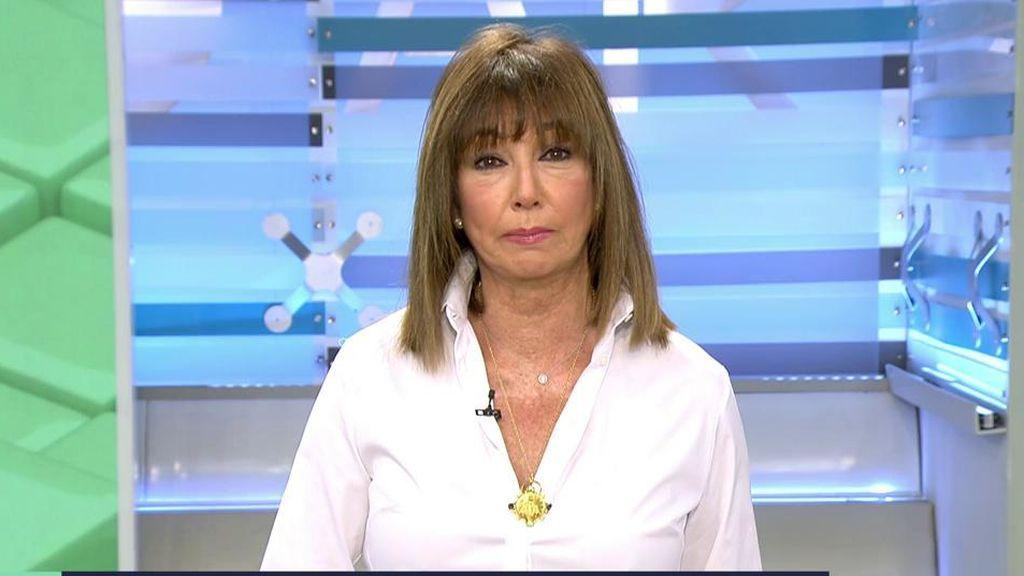 Arranque de Ana Rosa en el primer programa de la temporada