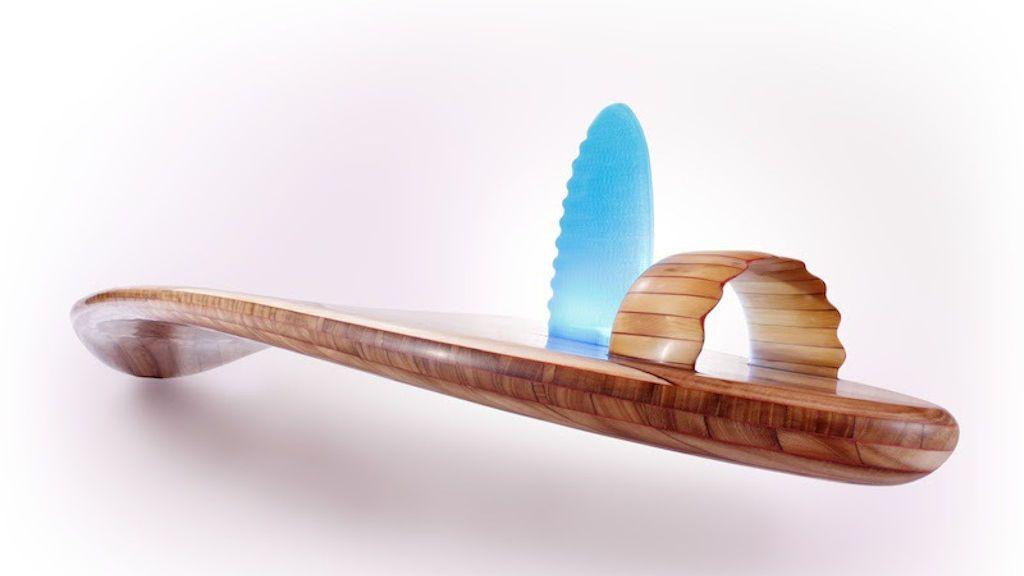 Olas millonarias: la tabla de surf que cuesta un millón de euros