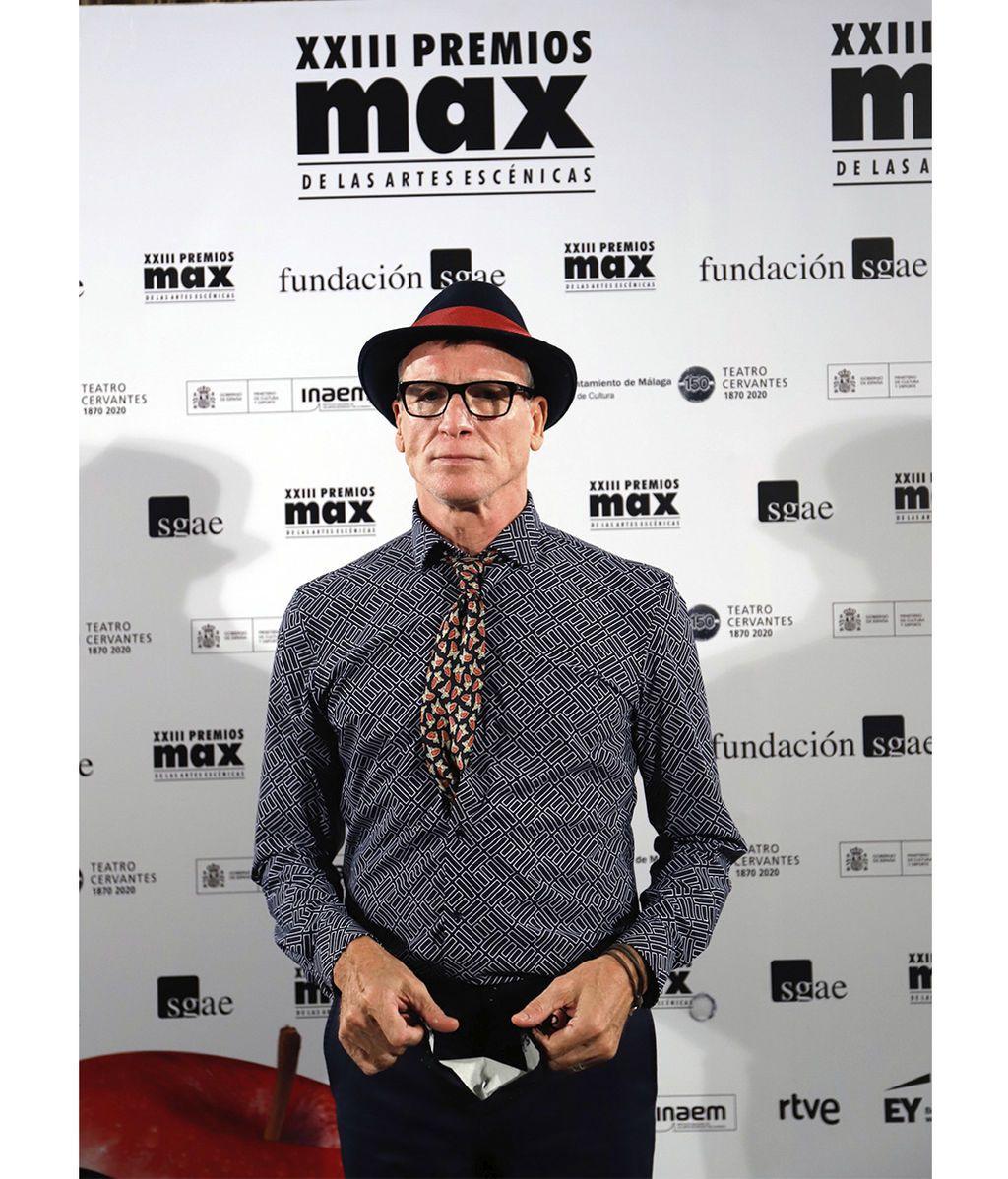 Nacho Duato en el photocall de los Premios Max