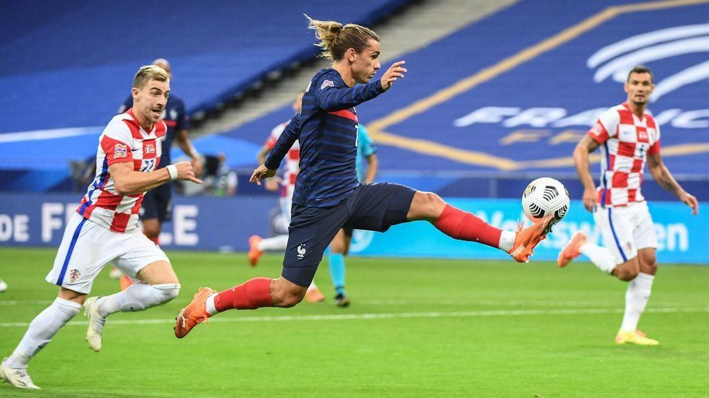 Francia consigue una contundente victoria ante Croacia a pesar de su pobre actuación (4-2)