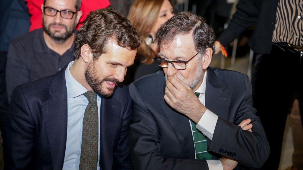 El PP blinda a Casado y se prepara para poner distancia con Rajoy por la 'Kitchen'