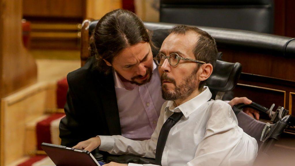 PSOE y Podemos frenan en una comisión de investigación sobre la financiación del partido de Iglesias
