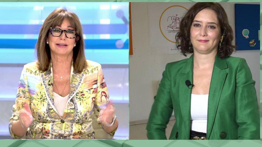La entrevista completa de Isabel Díaz Ayuso en 'AR'