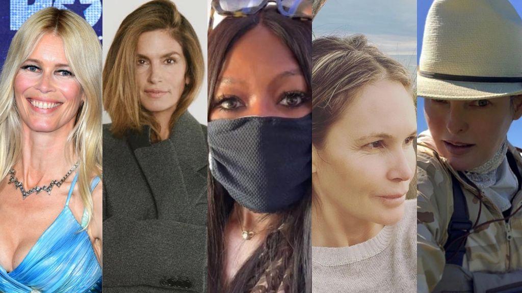 Claudia, Naomi, Cindy… la vida como cincuentañeras de las top de los 90