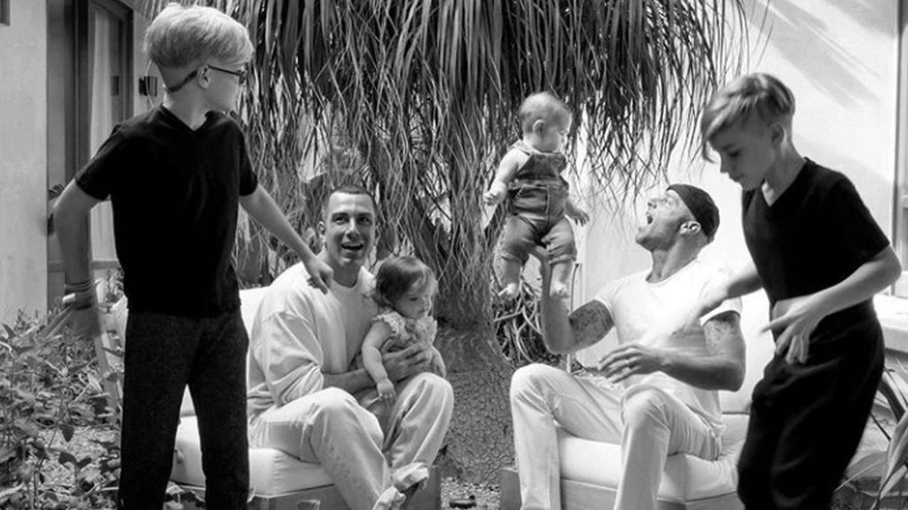 Así son los cuatro hijos de Ricky Martin.