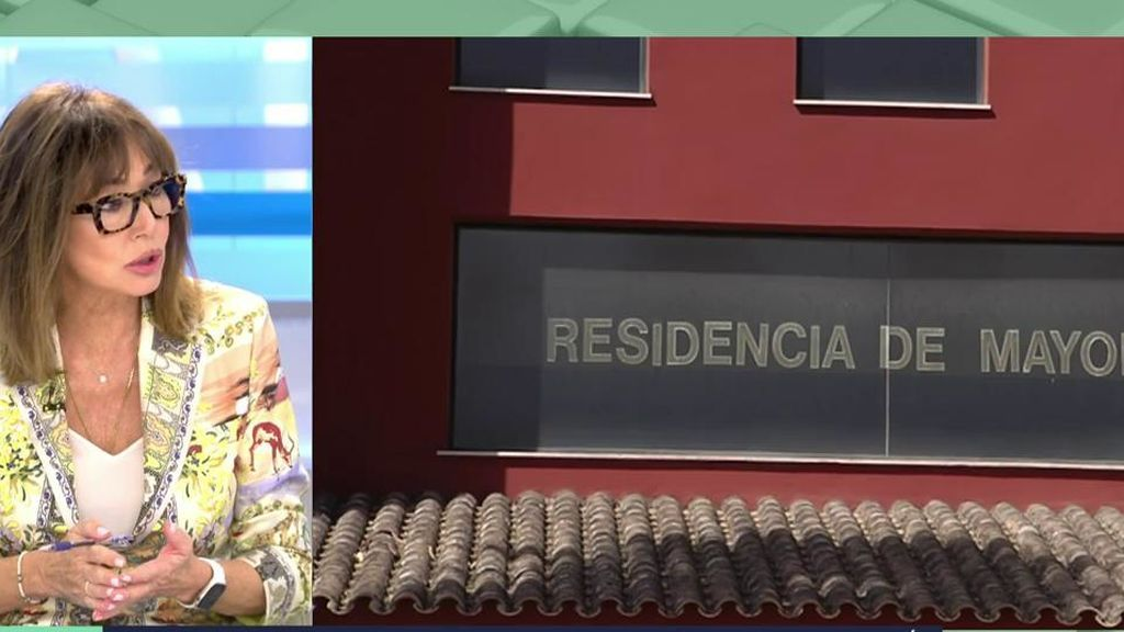 Ana Rosa, indignada con la situación de las residencias