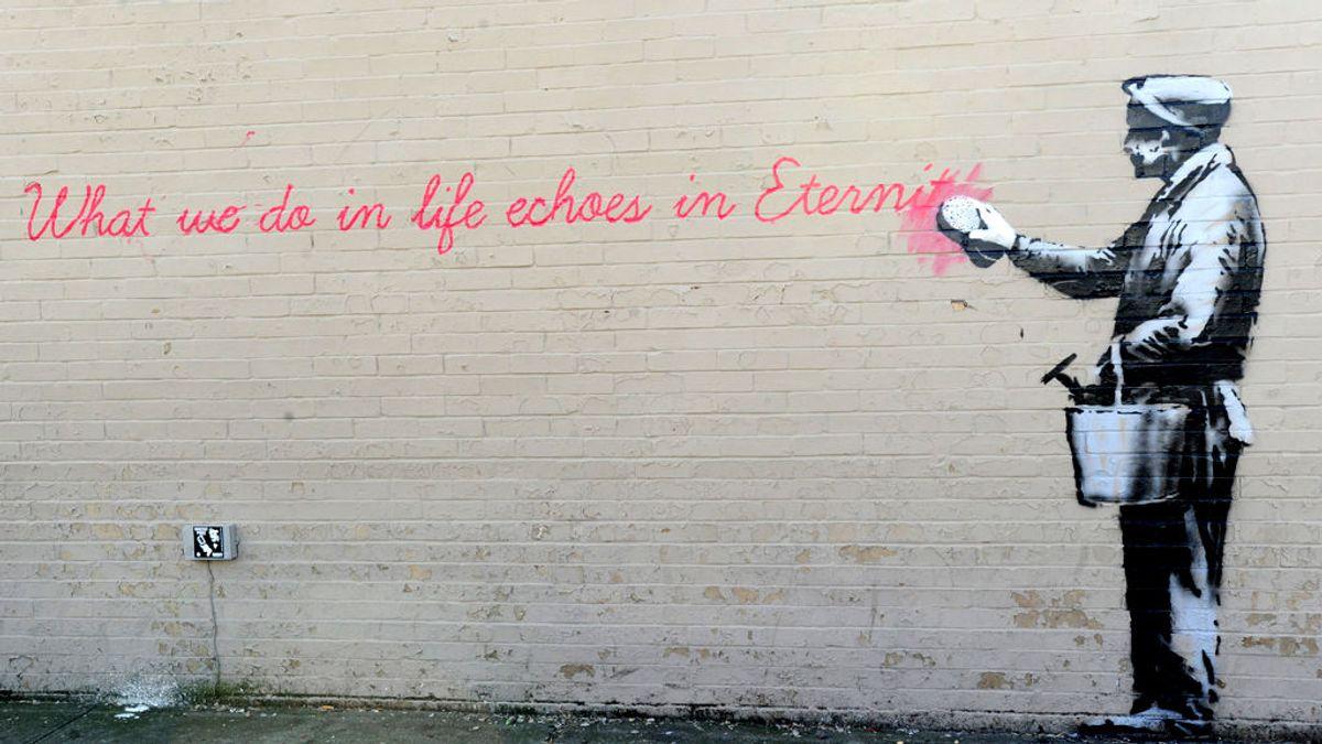 """""""Yo no soy Banksy"""": Uno de los candidatos en la eterna búsqueda de la identidad del artista niega serlo"""