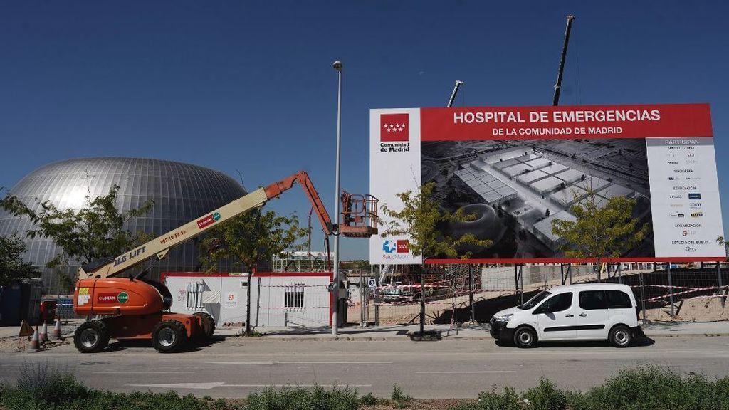 El nuevo hospital de Emergencias de Madrid está al 35% de su construcción