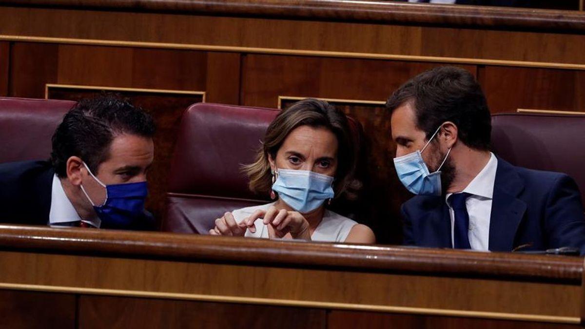 La vuelta al cole de los políticos: Todos los diputados con mascarilla en el primer control al Gobierno