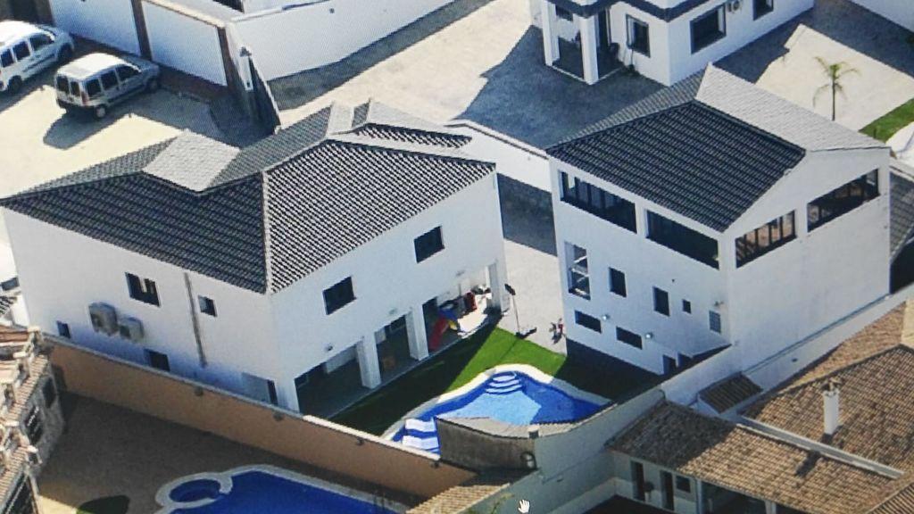 La casa de Gareth Mauro en `Villa Narco´