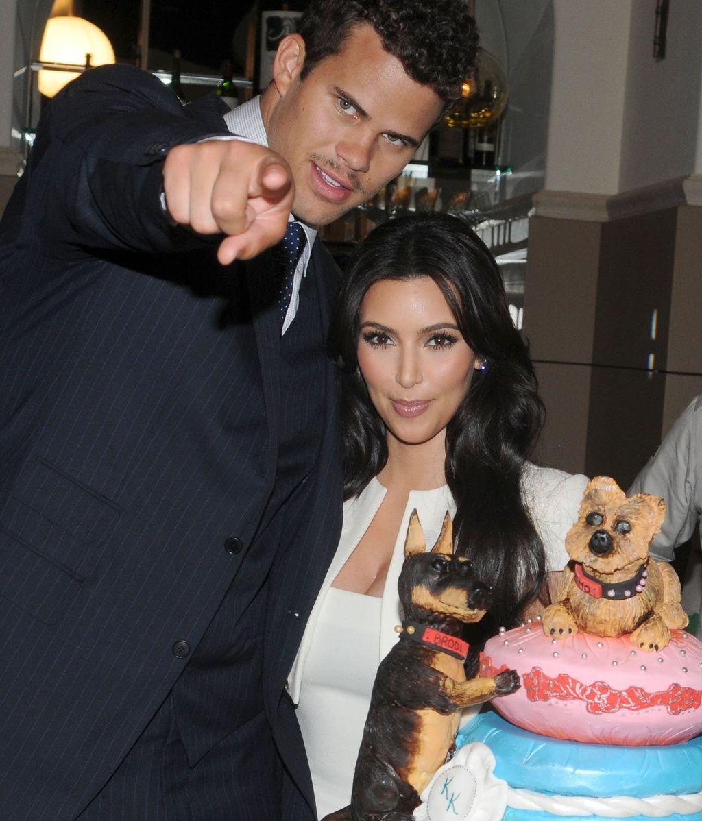 Kim Kardashian y Kris Humphries duraron 72 días casados
