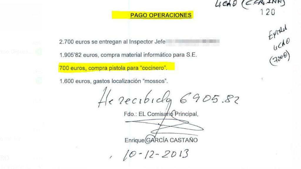 Los documentos y fotos que demuestran el espionaje de la Kitchen a Luis Bárcenas y su entorno