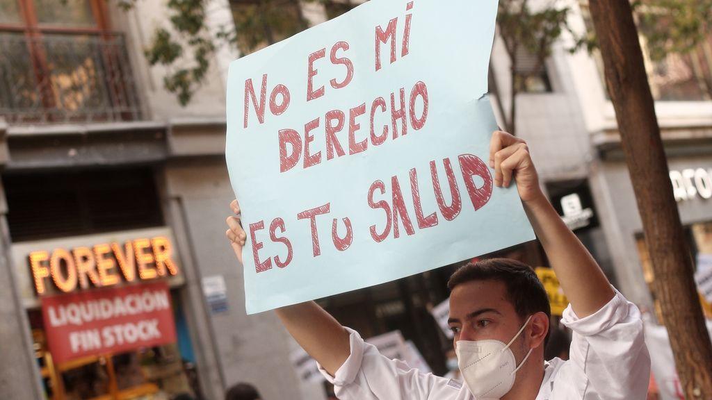 Los sindicatos de la sanidad de Madrid convocan movilizaciones y amenazan con huelgas