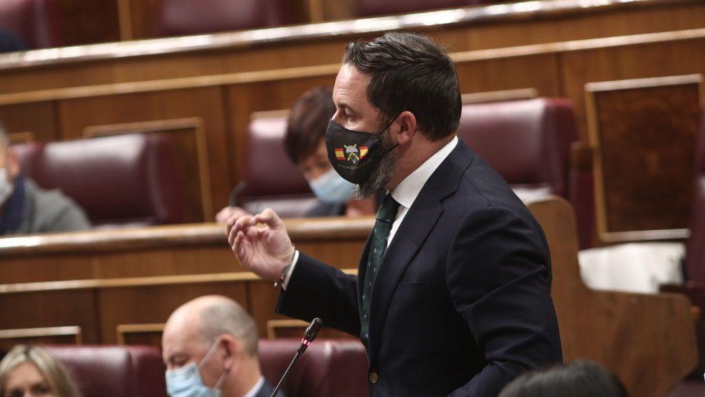Abascal acusa al Gobierno de Sánchez de ser peor que la dictadura de Franco