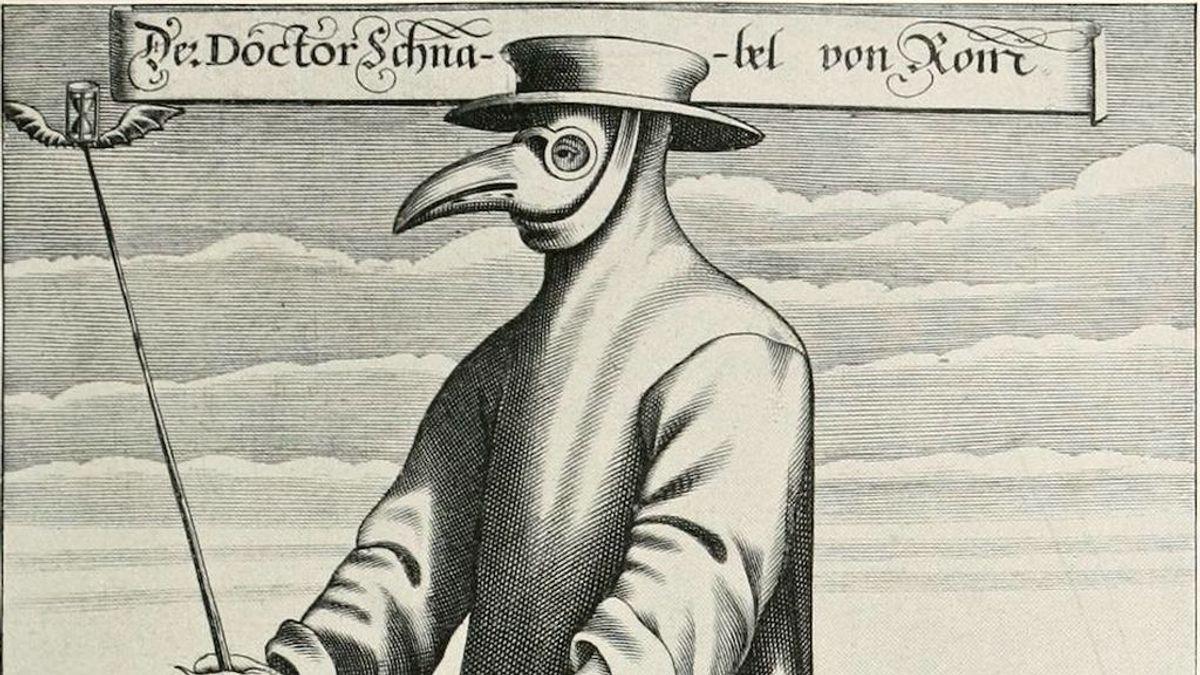 Así vestían los médicos en el siglo XV para enfrentar a la peste negra