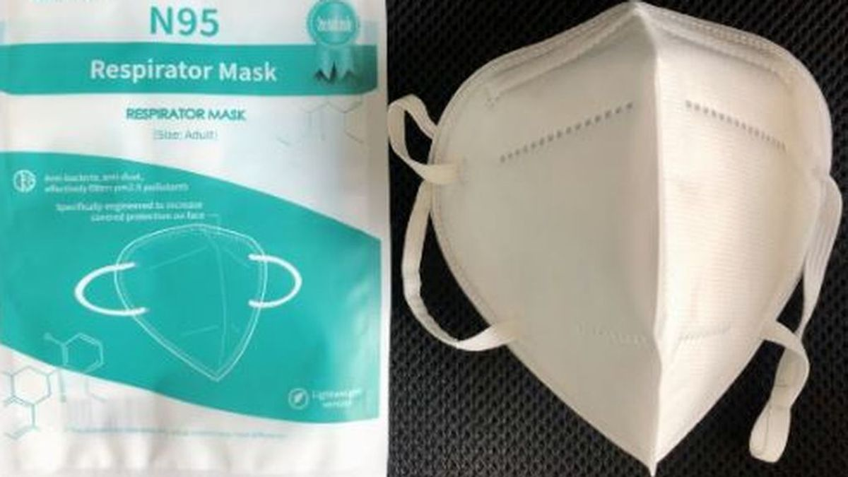 Devuelven la eficacia a las mascarillas N95 después de usarlas con una lavadora y dos electrodos
