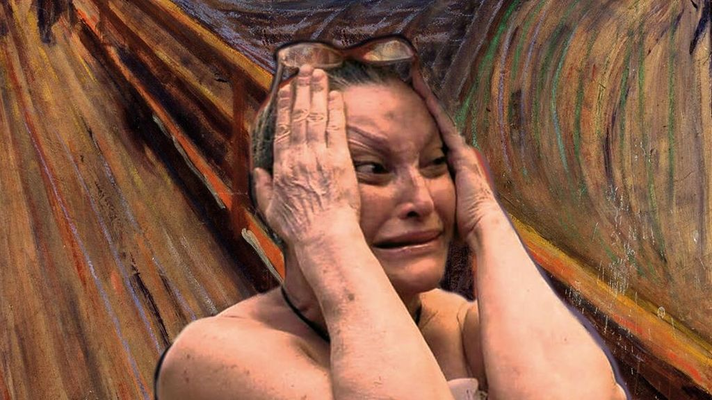 Aramís Fuster como 'El grito' o Leticia Sabater como 'La venus de Nilo': así serían nuestros telecinqueros como protagonistas de obras de arte