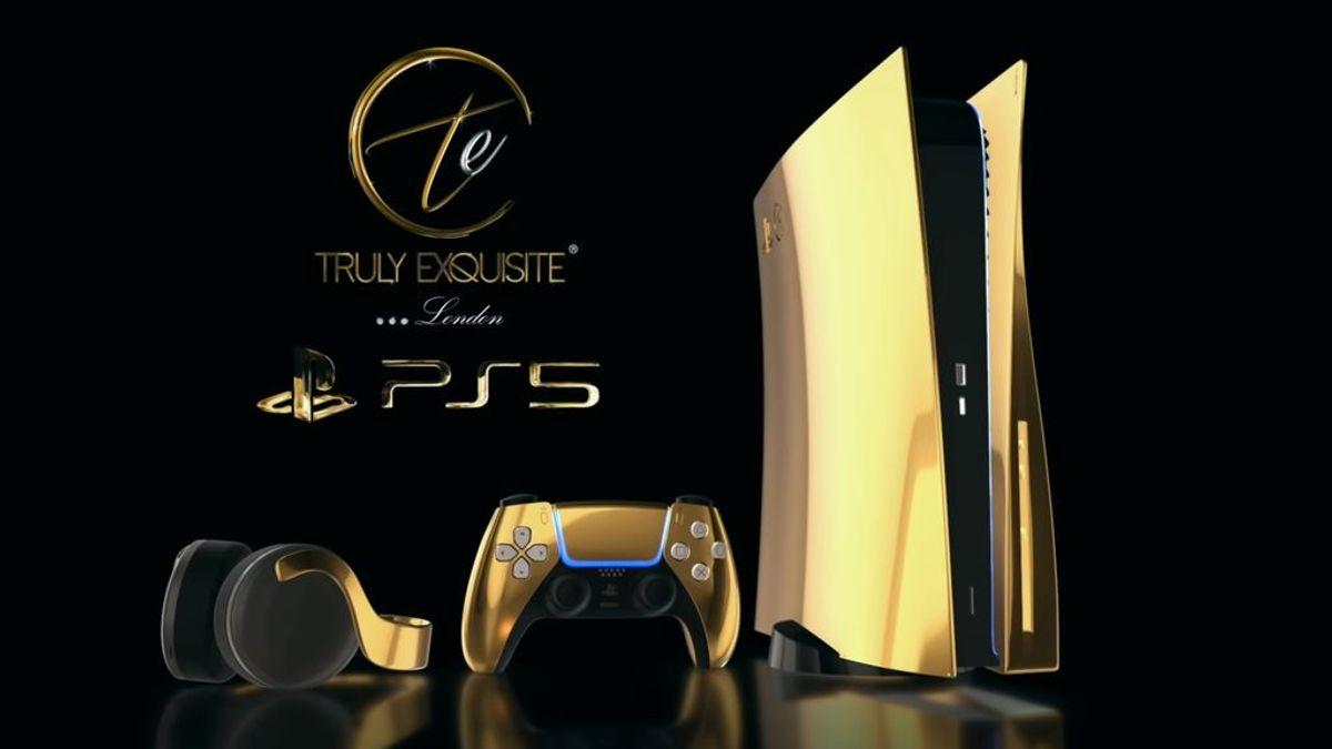 PS5 de oro