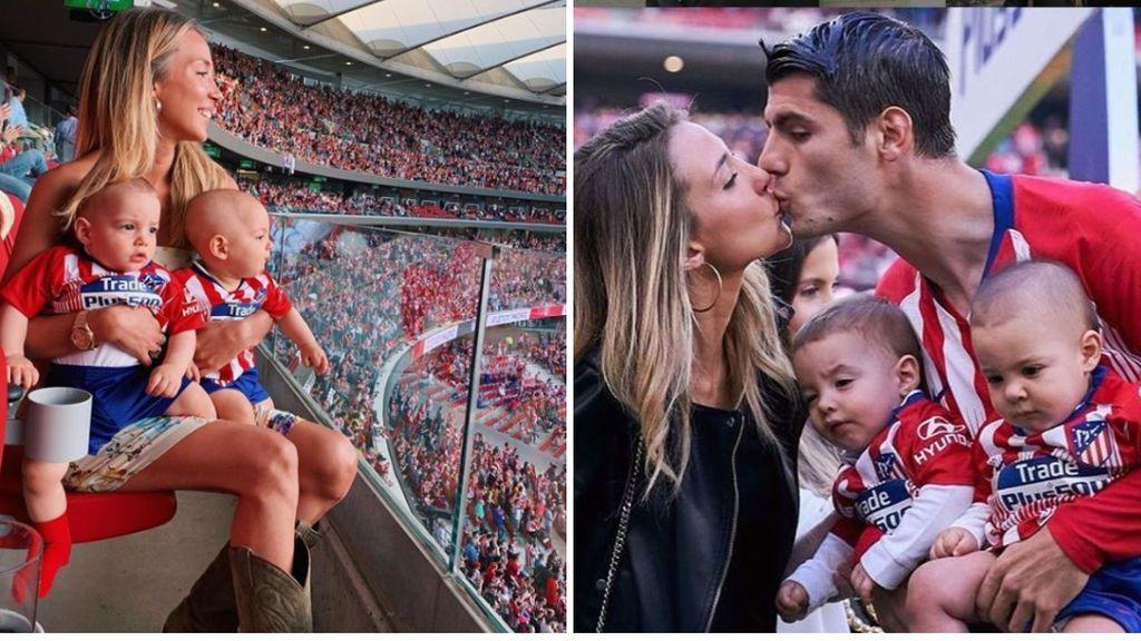"""Aficionados del Atlético echan las culpas a Alice Campello de que Morata se quiera ir: """"¿Qué pasa, no estás a gusto en Madrid?"""""""