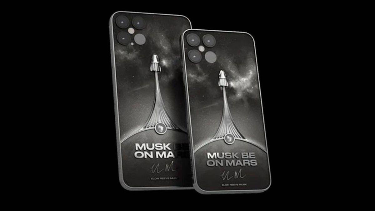 Un iPhone 12 espacial: cuenta con un trozo de nave de la misión Space X incrustado