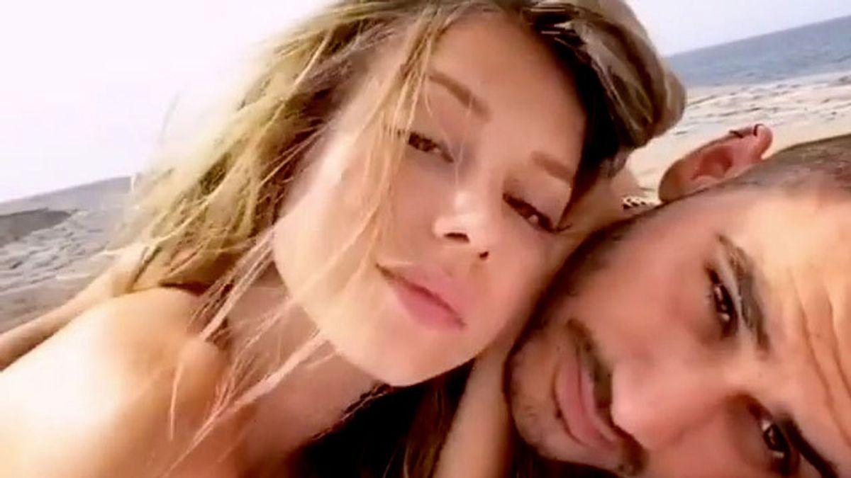 Ester Expósito y Alejandro Speitzer, en Instagram