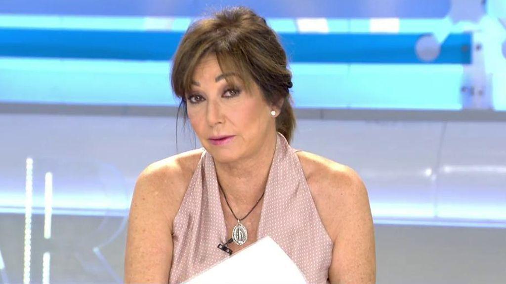 """Ana Rosa, indignada ante la reokupación en Utebo: """"A ti te okupan y no puedes entrar ni a por las fotos de tu familia"""""""