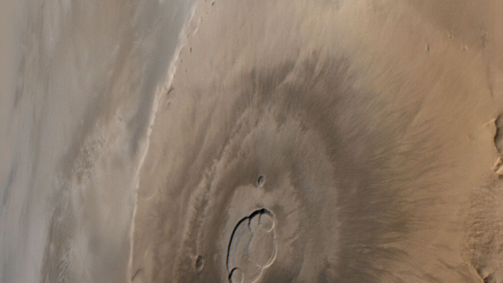 El volcán más grande conocido no está en la Tierra: lo que se sabe del Monte Olimpo marciano