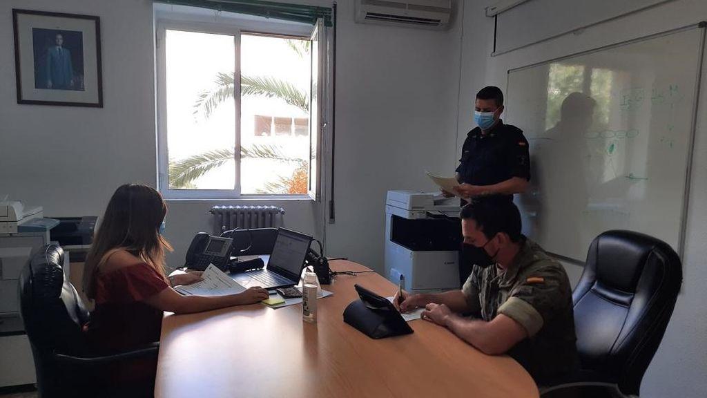 Una treintena de rastreadores militares comienza a trabajar en la Comunidad Valenciana