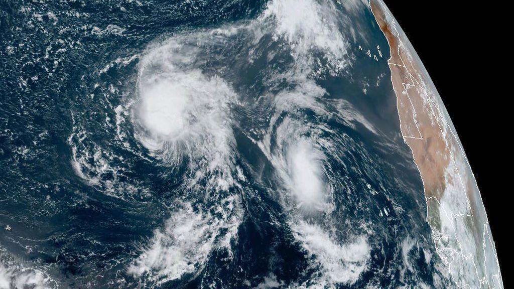 Paulette, René y posible Sally: tres ciclones tropicales se alinean en el Atlántico