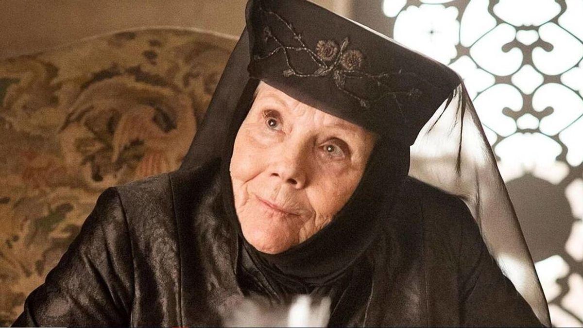 Muere Diana Rigg, Olenna Tyrell en 'Juego de tronos', y siempre la recordaremos por esta escena