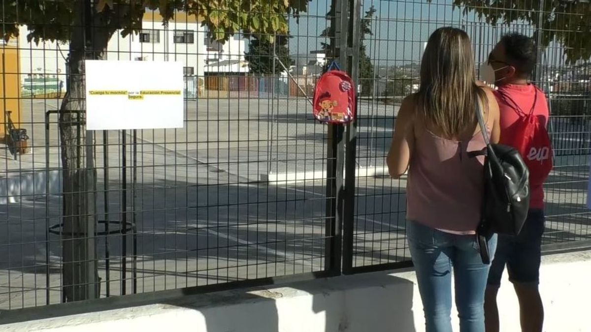 El cole de los insumisos: solo el 10 % de los escolares de un centro de Córdoba acude a clase