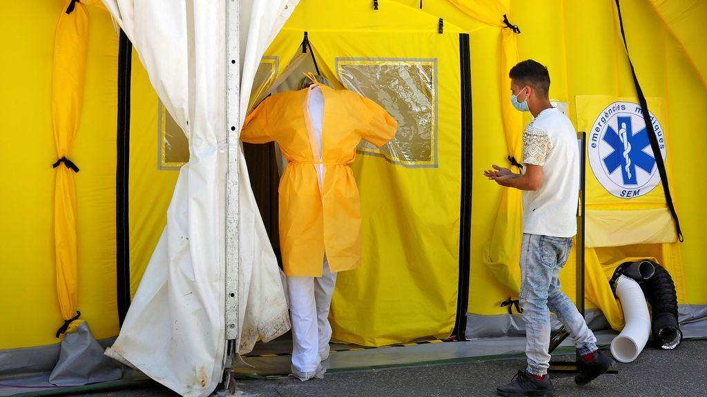 España sube a 10.764 contagios de coronavirus, con un máximo diario de 4.137